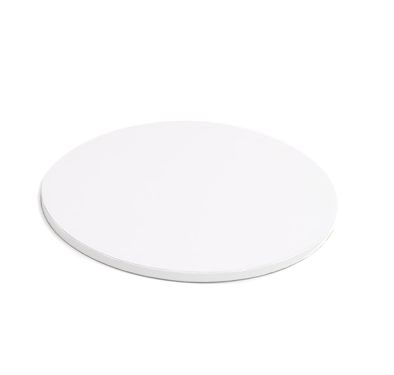 DRUM Cake Board (WHITE) - 8 ROUND