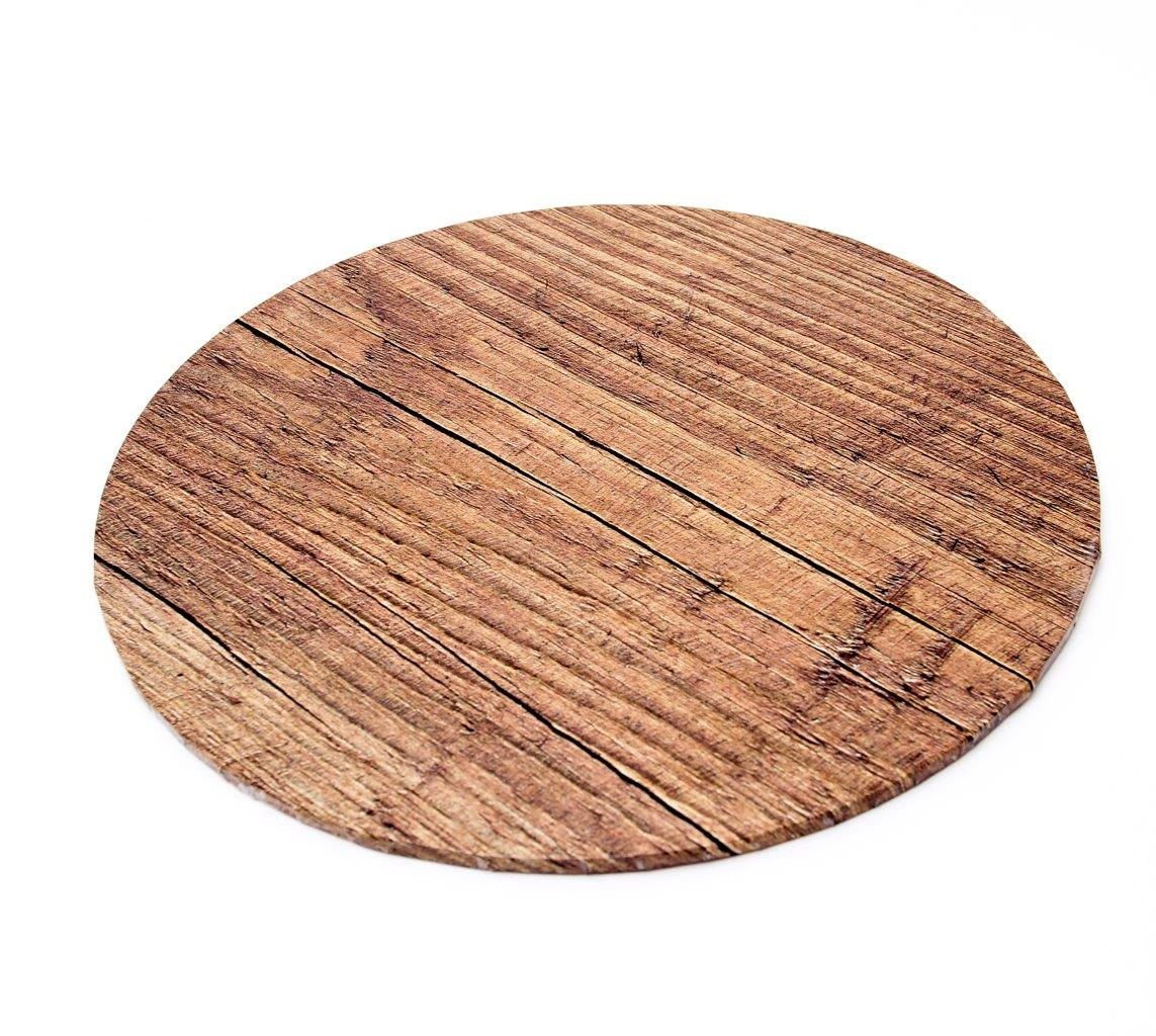 Food Presentation Board (WOOD) - 10 ROUND