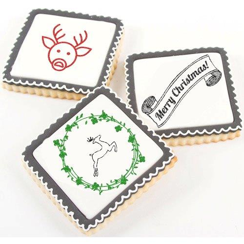 CHRISTMAS JOY Stamp - Stamp a Cake