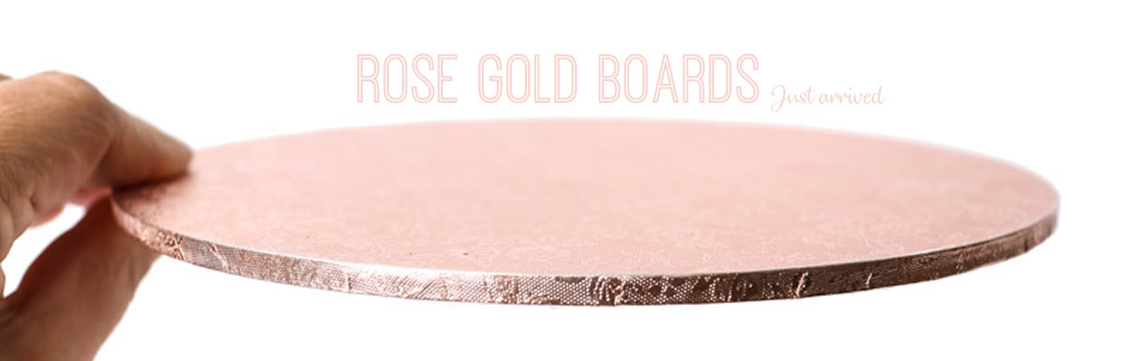 Rose Gold Boards